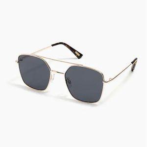 J.Crew aviator frame sunglasses